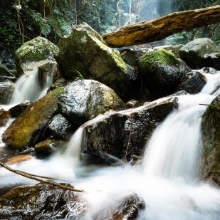 Stream at the Bottom Falls