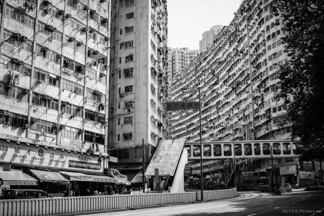 On King's Road, Quarry Bay. Now this is old Hong Kong!