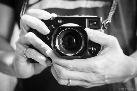 High tech in a retro package - the X-Pro1.