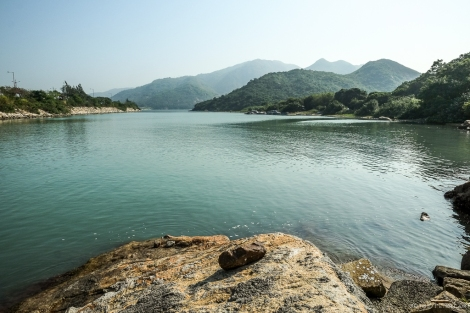 The start of the trail at Tai Ho Wan.