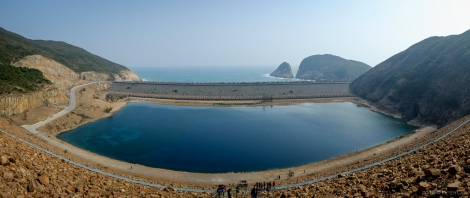Panoramic view of the East Dam.