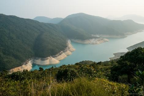 The High Island Reservoir.