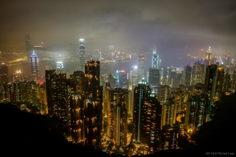 Hong Kong from Victoria Peak.