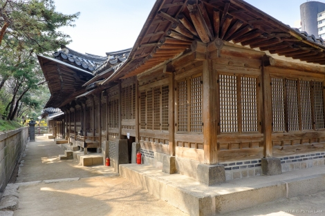 Traditional Korean architecture.