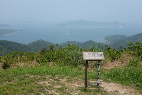 Lo Yan Shan, the highest point on Chi Ma Wan peninsula.