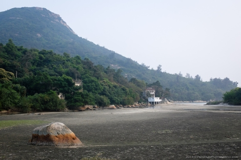 Low tide near Pui O village.