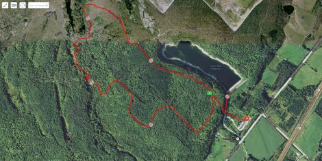 The short hike through the conservation area.