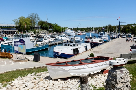Tobermory harbour image