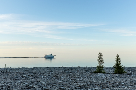 boat on georgian bay image