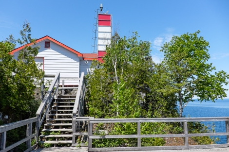 The island lighthouse.