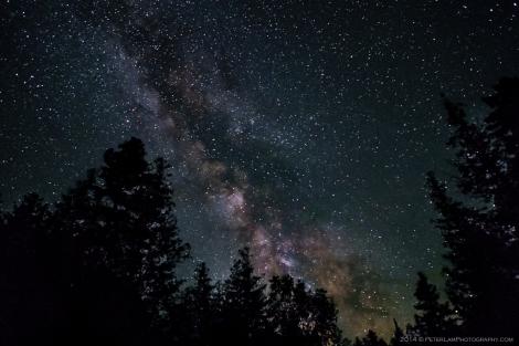 Cyprus Lake Milky Way