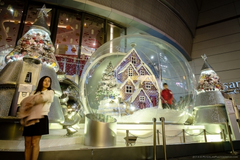 Hong Kong Christmas Mall