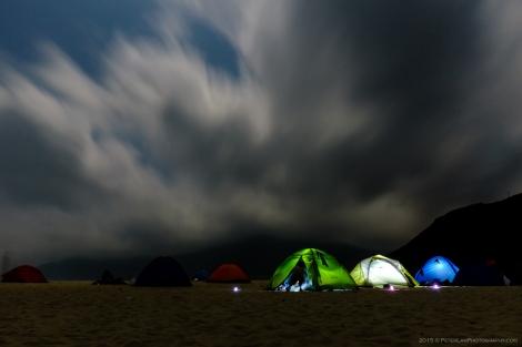 Ham Tin Beach Camping