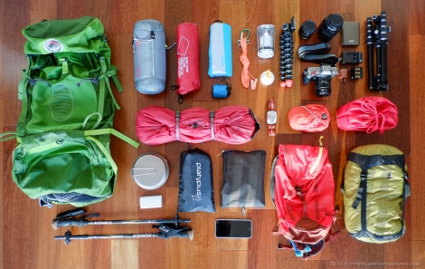 Camping Backpacking Gear