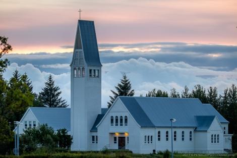 Selfosskirkja church in Selfoss